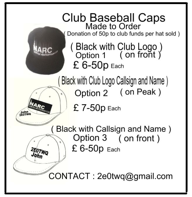 club hat flyer